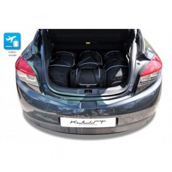 Kit de valises sur mesure pour Renault Megane 3 ou 5 portes (2009 - 2016)