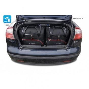 Kit de valises sur mesure pour Saab 9-3 Cabriolet (2007 - 2011)