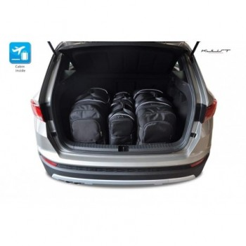Kit de valises sur mesure pour Seat Ateca