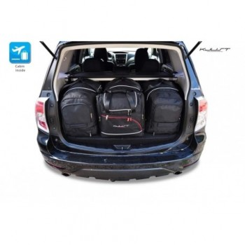Kit de valises sur mesure pour Subaru Forester (2008 - 2013)