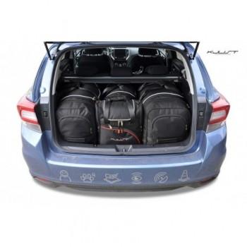 Kit de valises sur mesure pour Subaru Impreza (2018 - actualité)