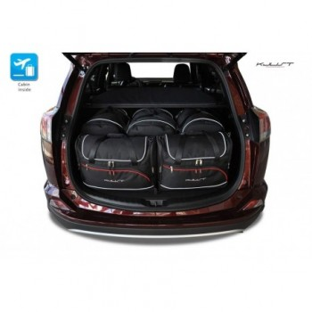 Kit de valises sur mesure pour Toyota RAV4 (2013 - actualité)