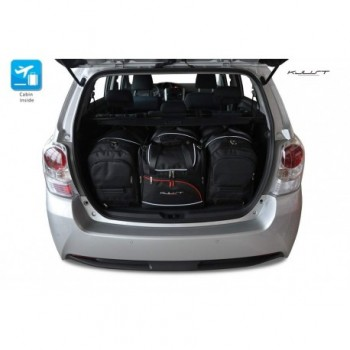 Kit de valises sur mesure pour Toyota Verso (2009 - 2013)