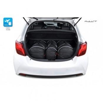 Kit de valises sur mesure pour Toyota Yaris 3 ou 5 portes (2011 - 2017)