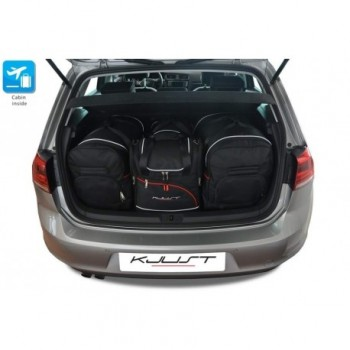 Kit de valises sur mesure pour Volkswagen Golf Sportsvan