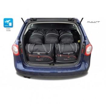 Kit de valises sur mesure pour Volkswagen Passat B6 Break (2005 - 2010)