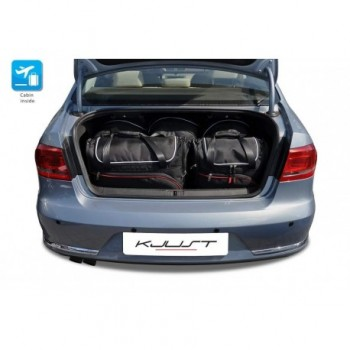 Kit de valises sur mesure pour Volkswagen Passat B7 (2010 - 2014)