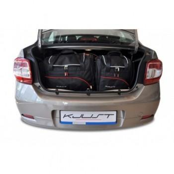 Kit de valises sur mesure pour Dacia Logan (2013 - 2016)
