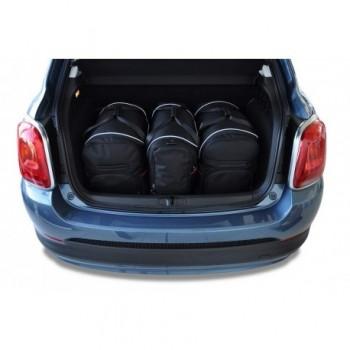 Kit de valises sur mesure pour Fiat 500 X (2015 - actualité)