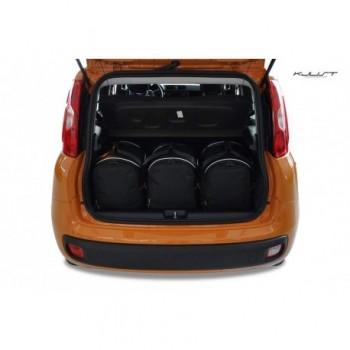 Kit de valises sur mesure pour Fiat Panda 319 (2012 - 2016)