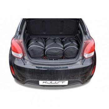 Kit de valises sur mesure pour Hyundai Veloster