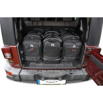 Kit de valises sur mesure pour Jeep Wrangler 5 portes (2007 - 2017)