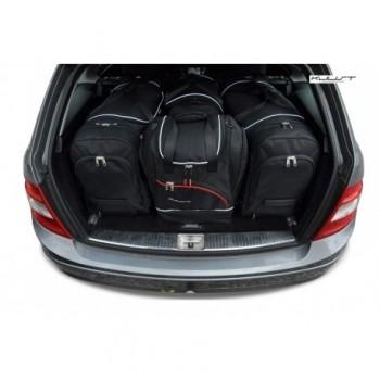 Kit de valises sur mesure pour Mercedes Classe-C S204 Break (2007 - 2014)