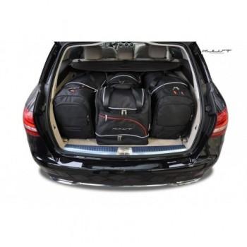 Kit de valises sur mesure pour Mercedes Classe-C S205 Break (2014 - actualité)