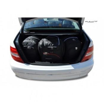 Kit de valises sur mesure pour Mercedes Classe-C W204 Berline (2007 - 2014)