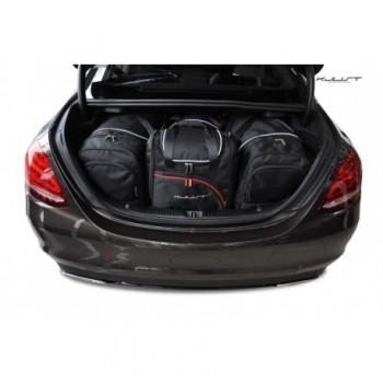 Kit de valises sur mesure pour Mercedes Classe-C W205 Berline (2014 - actualité)