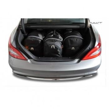 Kit de valises sur mesure pour Mercedes CLS C218 Restyling Coupé (2014 - 2018)