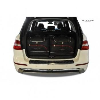 Kit de valises sur mesure pour Mercedes Classe-M W166 (2011 - 2015)