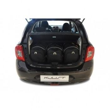 Kit de valises sur mesure pour Nissan Micra (2011 - 2013)