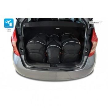 Kit de valises sur mesure pour Nissan Note (2013 - actualité)