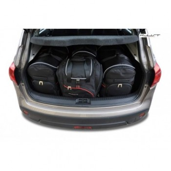 Kit de valises sur mesure pour Nissan Qashqai (2007 - 2010)