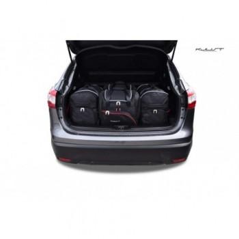 Kit de valises sur mesure pour Nissan Qashqai (2014 - 2017)
