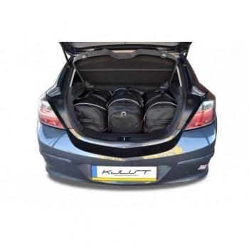 Kit de valises sur mesure pour Opel Astra H, 3 portes (2004 - 2010)