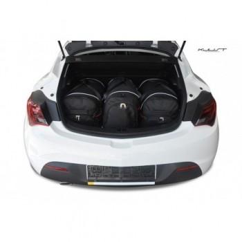 Kit de valises sur mesure pour Opel Astra J, 3 portes (2009 - 2015)