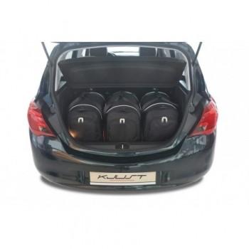 Kit de valises sur mesure pour Opel Corsa E (2014 - 2019)