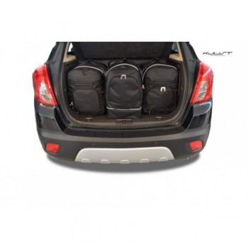 Kit de valises sur mesure pour Opel Mokka (2012 - 2016)