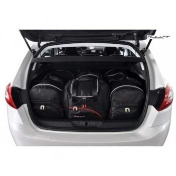 Kit de valises sur mesure pour Peugeot 308 3 ou 5 portes (2007 - 2013)