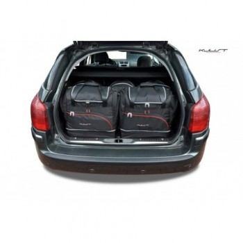 Kit de valises sur mesure pour Peugeot 407 Break (2004 - 2011)