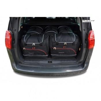 Kit de valises sur mesure pour Peugeot 5008 5 sièges (2009 - 2017)