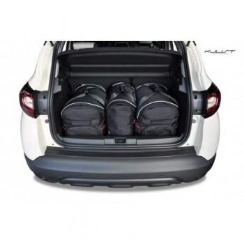 Kit de valises sur mesure pour Renault Captur Restyling (2017 - actualité)