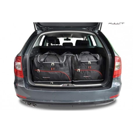 Kit de valises sur mesure pour Skoda Superb Break (2008 - 2015)
