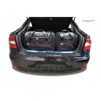 Kit de valises sur mesure pour Skoda Superb Berline (2008 - 2015)