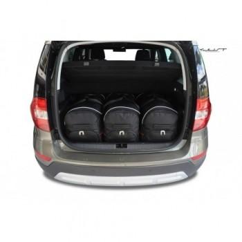 Kit de valises sur mesure pour Skoda Yeti (2014 - actualité)