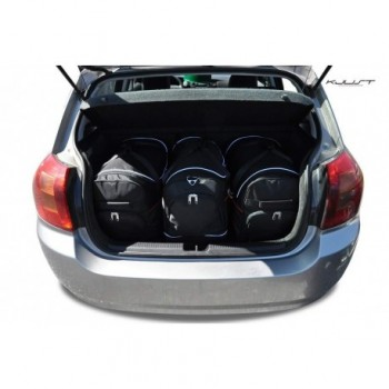 Kit de valises sur mesure pour Toyota Corolla (2002 - 2004)