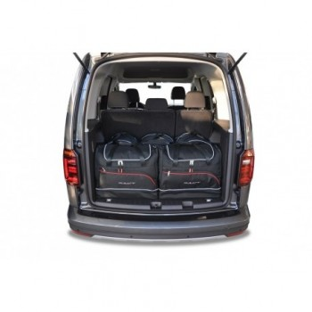 Kit de valises sur mesure pour Volkswagen Caddy 4K, 5 asientos (2016-actualité)
