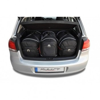 Kit de valises sur mesure pour Volkswagen Golf 6 (2008 - 2012)