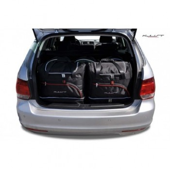 Kit de valises sur mesure pour Volkswagen Golf 6 Break (2008 - 2012)