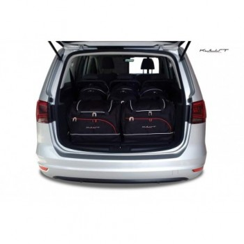 Kit de valises sur mesure pour Volkswagen Sharan 5 sièges (2010 - actualité)