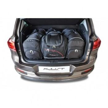 Kit de valises sur mesure pour Volkswagen Tiguan (2007 - 2016)