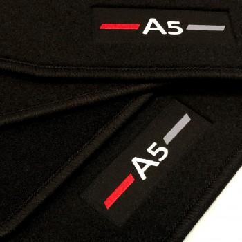 Tapis Audi A5 F57 Cabriolet (2017 - actualité) logo sur mesure
