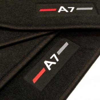 Tapis Audi A7 logo (2010-2017) sur mesure