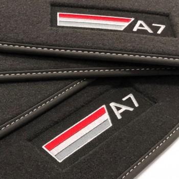 Tapis Audi A7 (2017-actualité) Velour S-line
