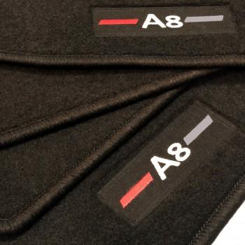 Tapis Audi A8 D5 (2017-actualité) logo sur mesure