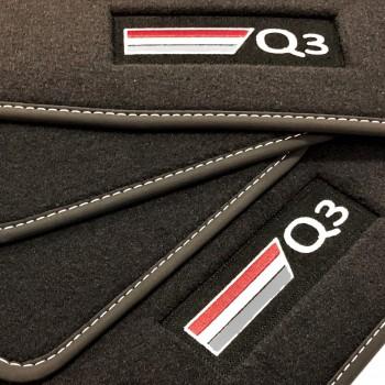 Tapis Audi Q3 (2019-actualité) Velour S-line