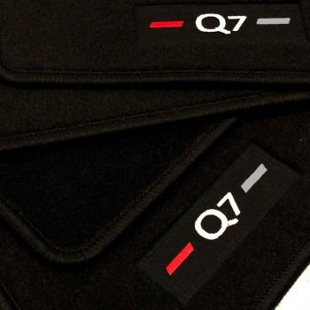 Tapis Audi Q7 4M 5 sièges (2015 - actualité) logo sur mesure