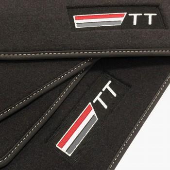 Tapis Audi TT 8N (1998 - 2006) Velour logo